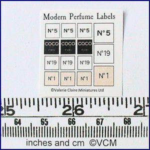 Perfume Shop - Labels