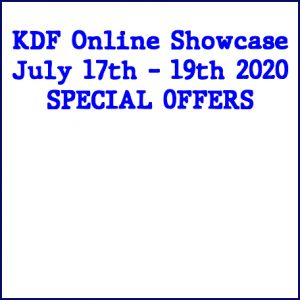KDF Showcase Sale Prices Available 17 - 19 July
