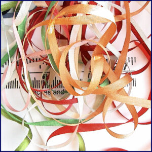 100% Silk Ribbon